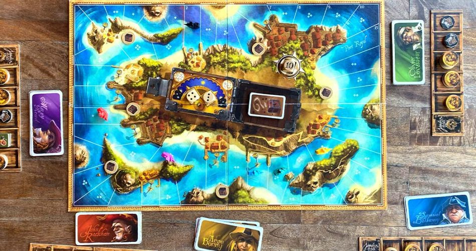 Jamaica Board Game Overview