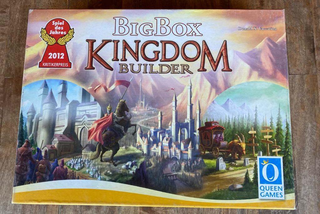 Kingdom Builder Board Game Box Art