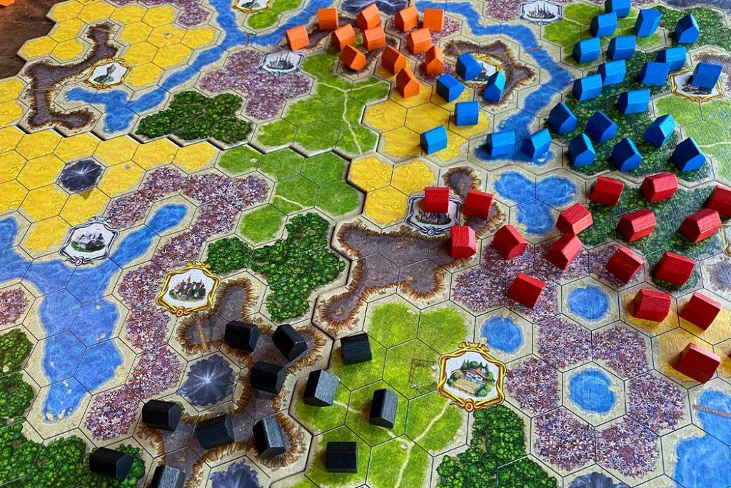 Kingdom Builder Board Game Gameplay