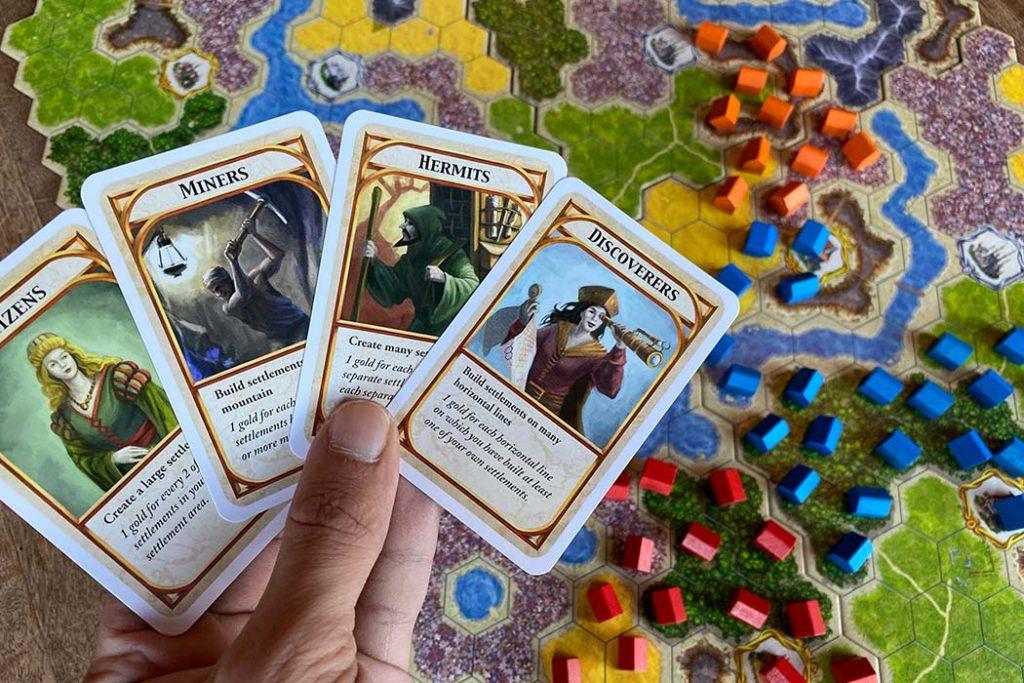 Kingdom Builder Board Game Goal Cards
