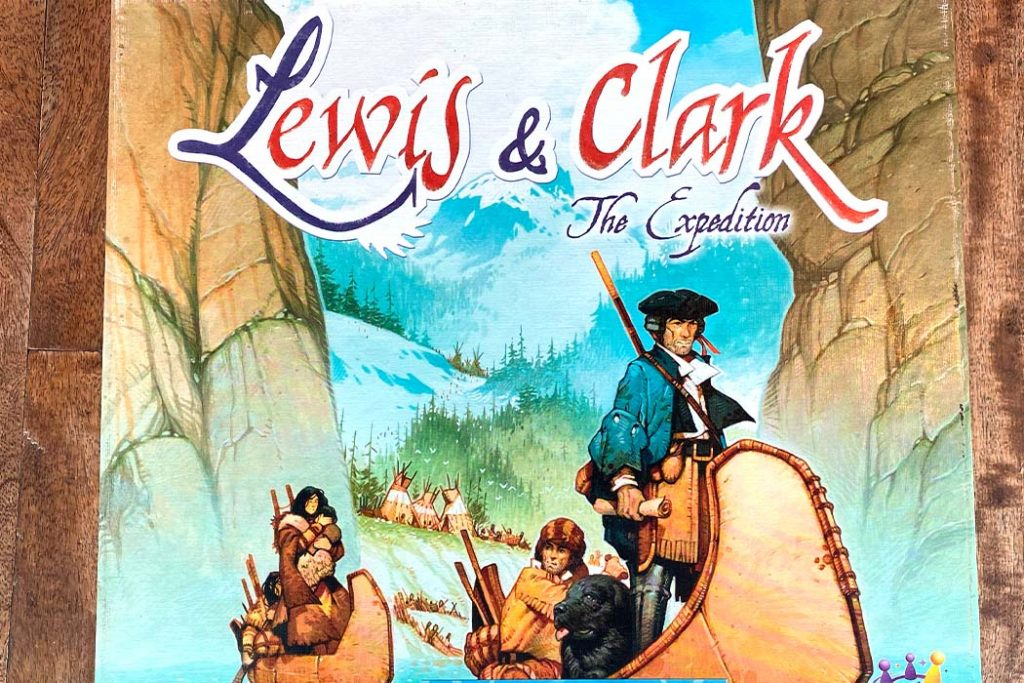 Lewis and Clark Board Game Box Art