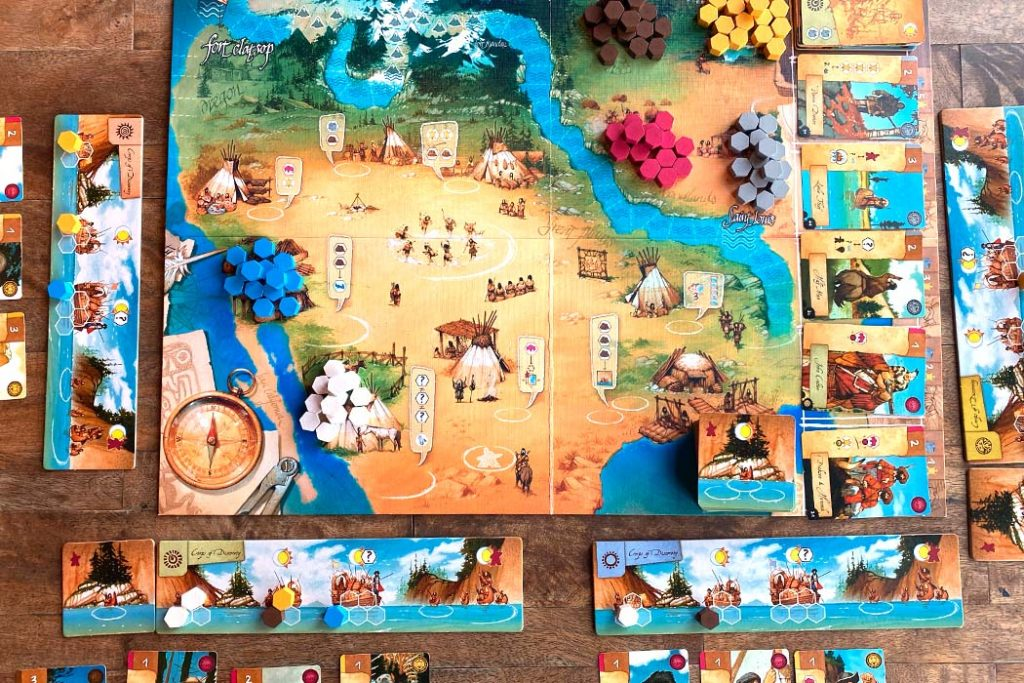 Lewis and Clark Board Game Overview