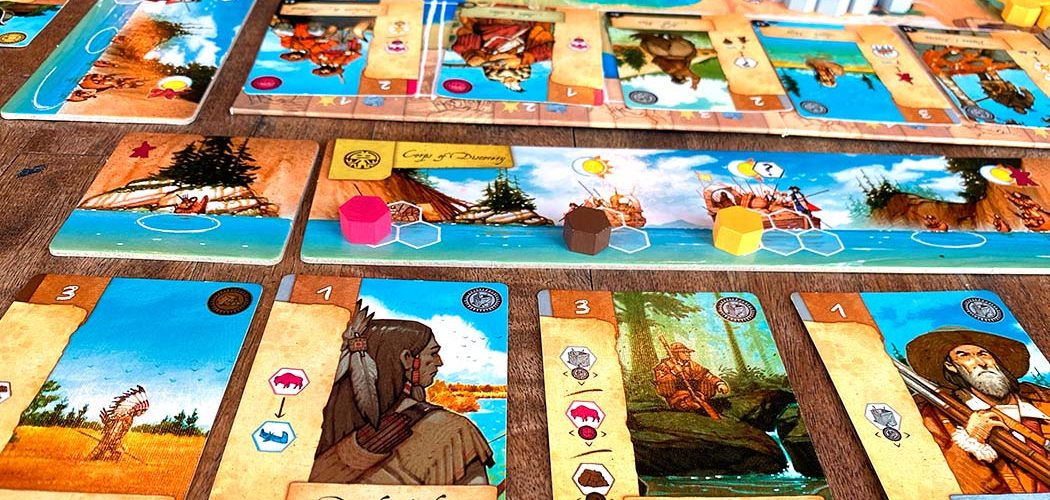 Lewis and Clark Board Game Player View