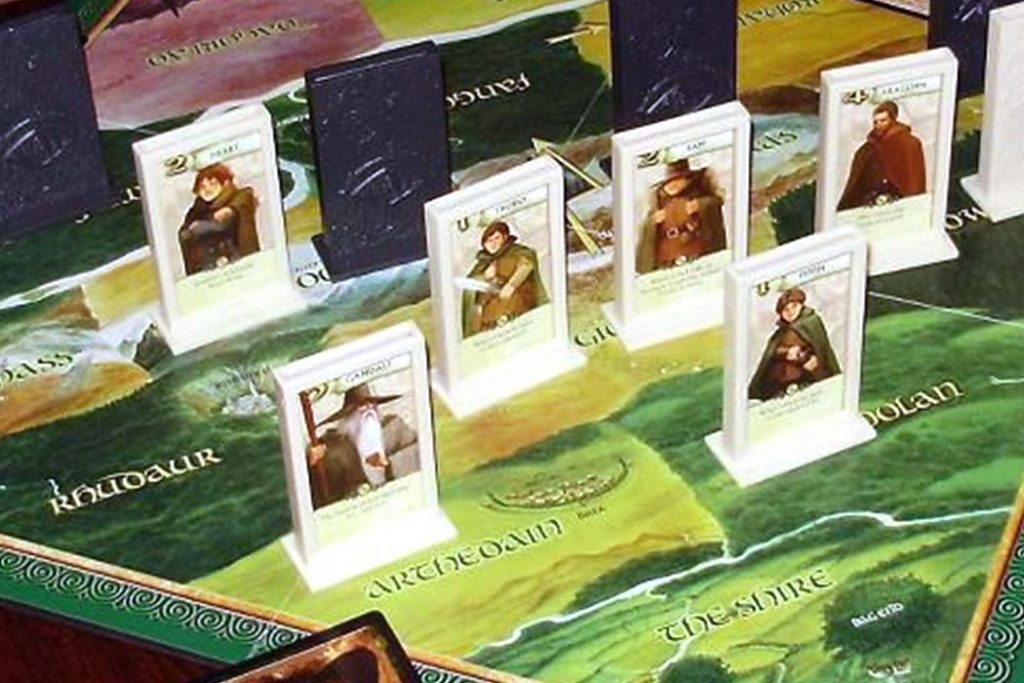 Lord of the Rings: The Confrontation Board Game