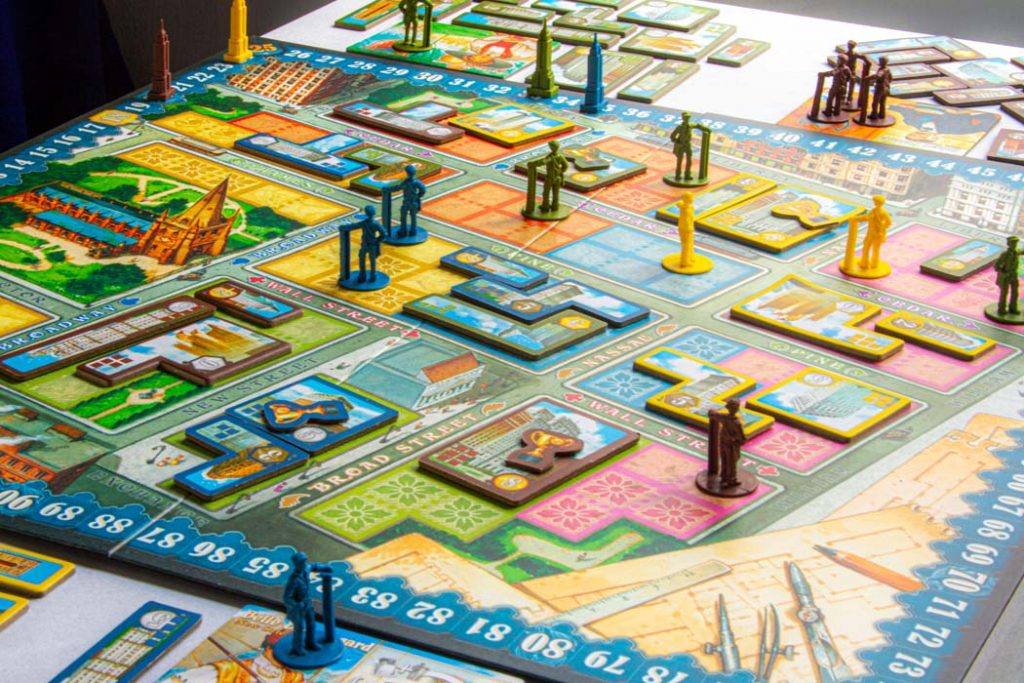 New York 1901 Board Game Overview