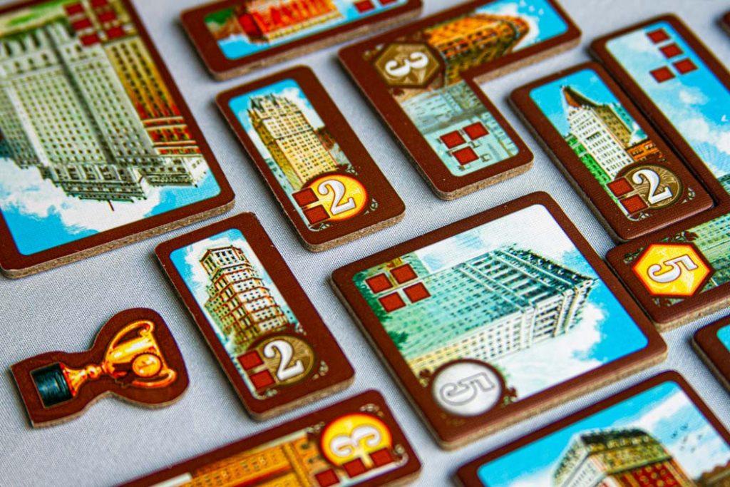 New York 1901 Board Game Skyscrapers