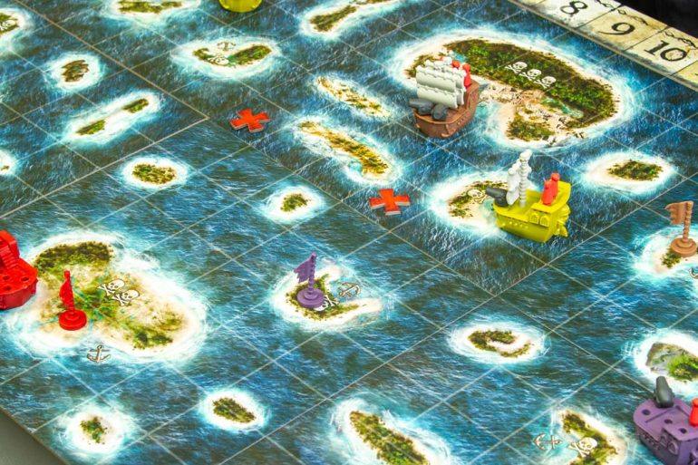 Plunder A Pirates Life Board Game Gameplay