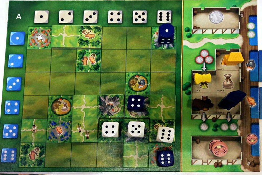 Santa Maria Board Game