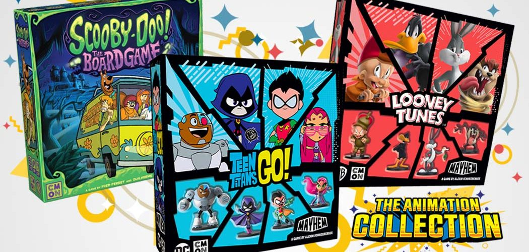 Scooby Doo, Looney Toons and Teen Titans Go Board Games Kickstarter