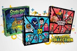 Scooby Doo, Looney Toons and Teen Titans Go Board Games Kickstarter