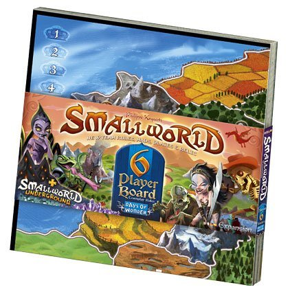 Small World Expansion 6 Player Board Box