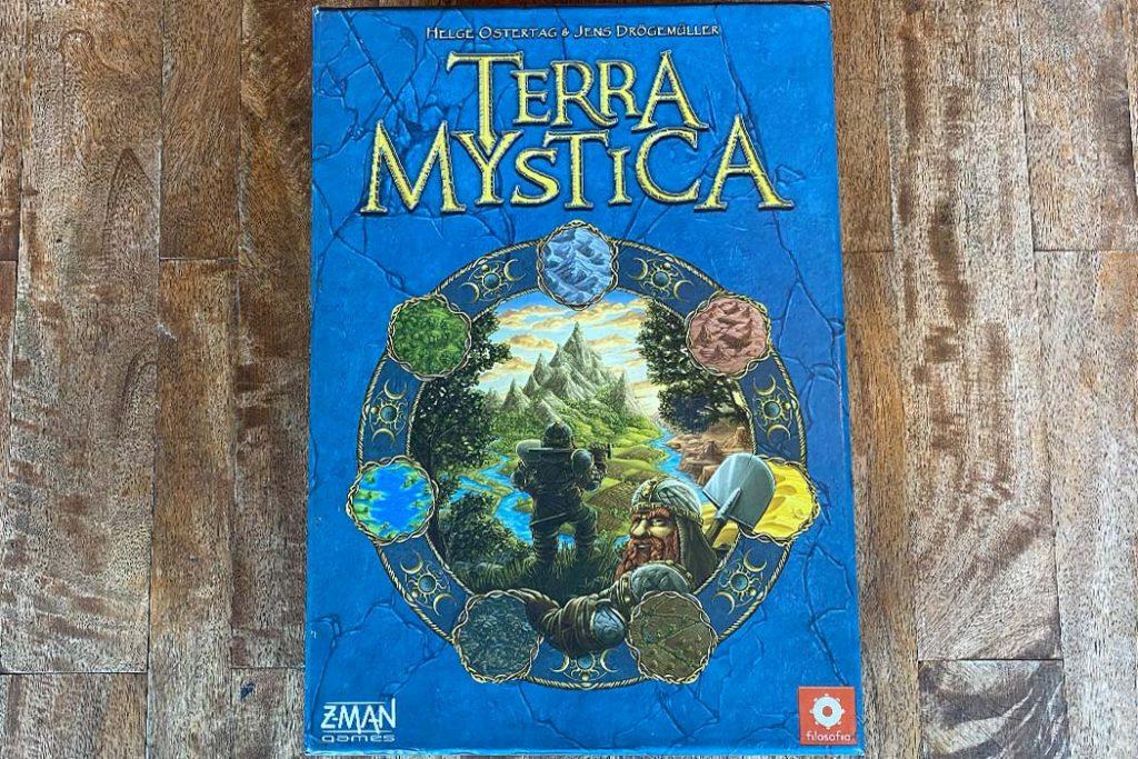 Terra Mystica Board Game Box Art