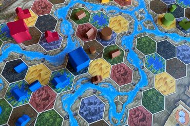 Terra Mystica Board Game Player Pieces