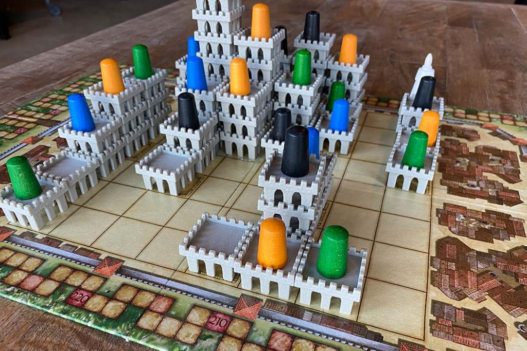 Torres Board Game Castle Stacks
