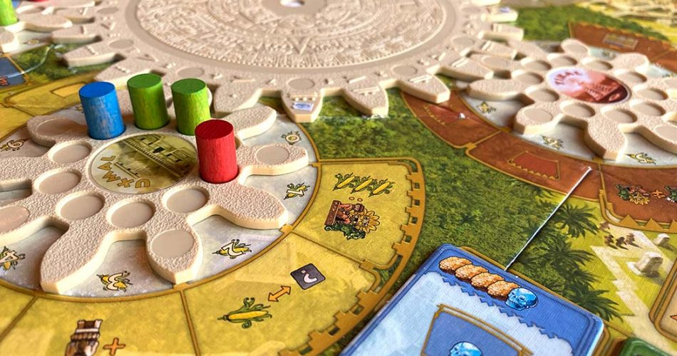 Tzolkin The Mayan Calendar Board Game Rondel
