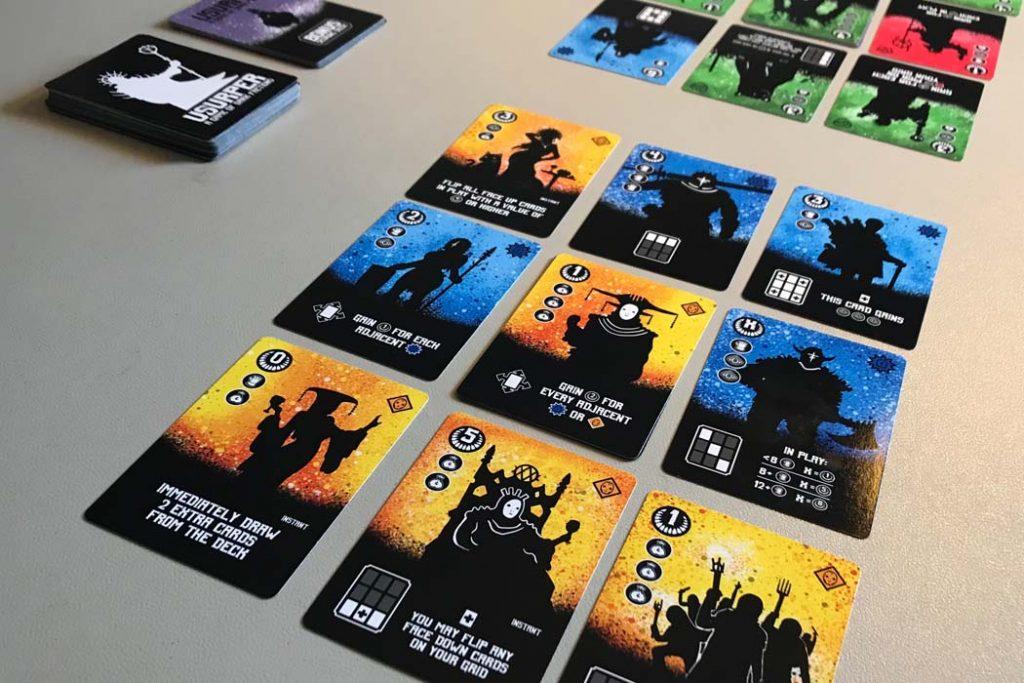 Usurper Kickstarter Cards