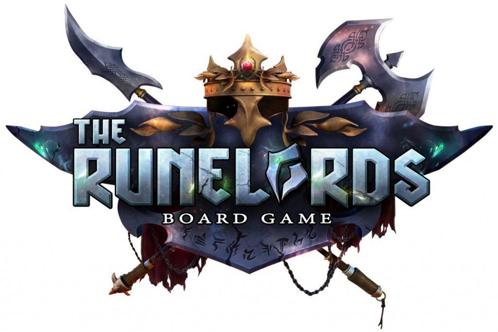 The Runelords Board Game Kickstarter Logo