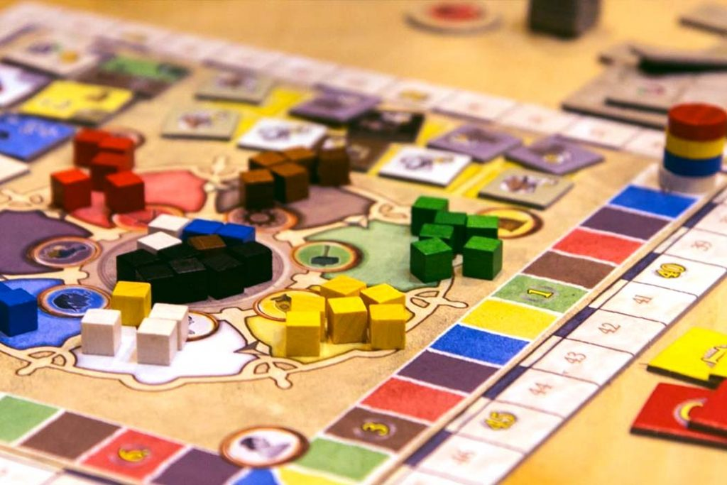 Amerigo Board Game
