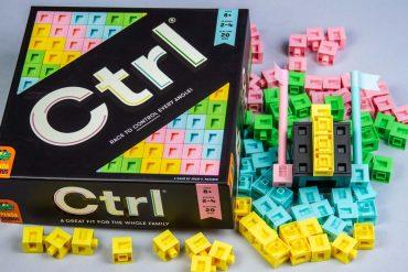 CTRL Board Game Box Art