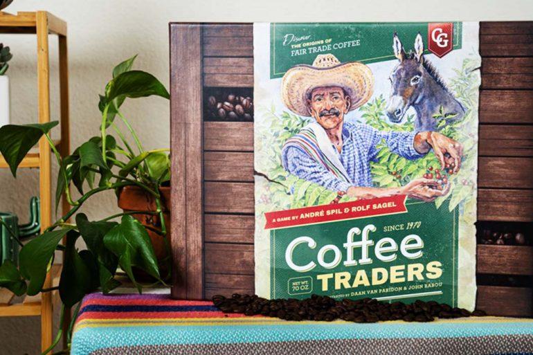 Capstone Announces Coffee Traders the Economic Fair Trade Board Game