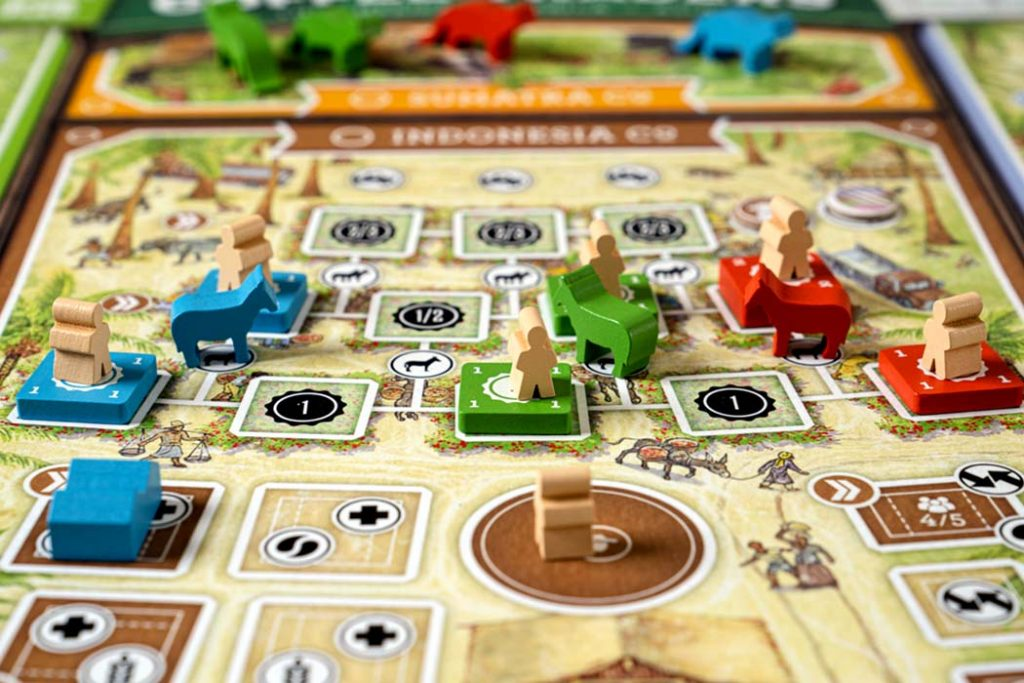 Coffee Traders Board Game Overview