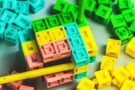 CTRL Board Game 3D Block