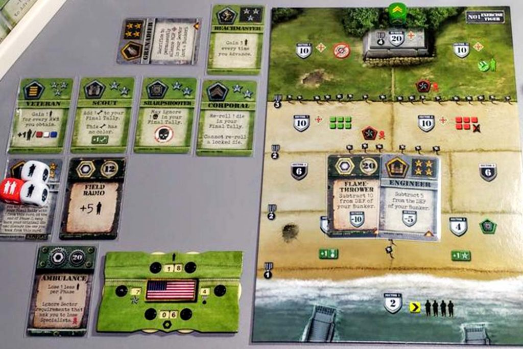 D-Day Dice Board Game Second Edition