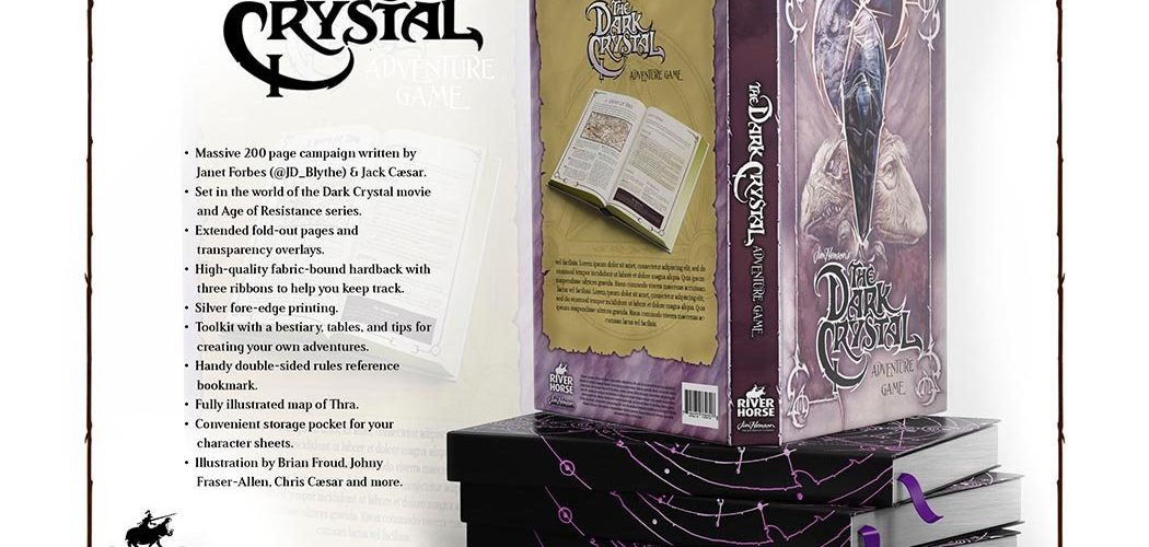 The Dark Crystal Adventure Board Game Announced