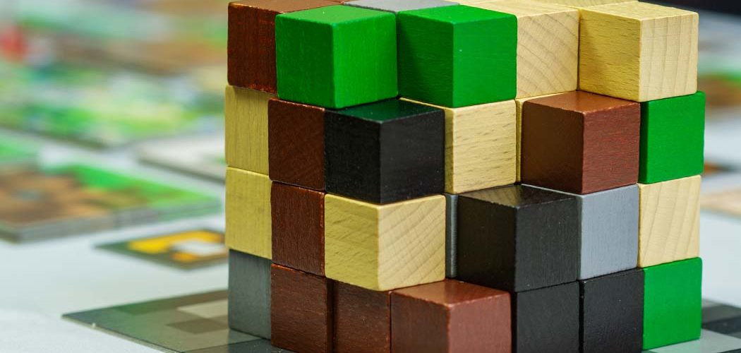 Minecraft Builders and Biomes Board Game Resource Cube Block