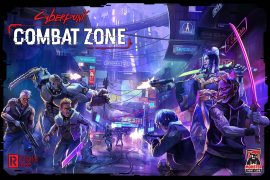 New Cyberpunk Board Game Content Announcement Combat Zone
