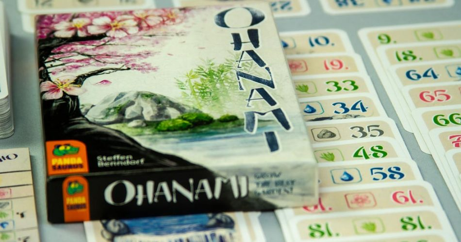 Ohanami Board Game Box Art