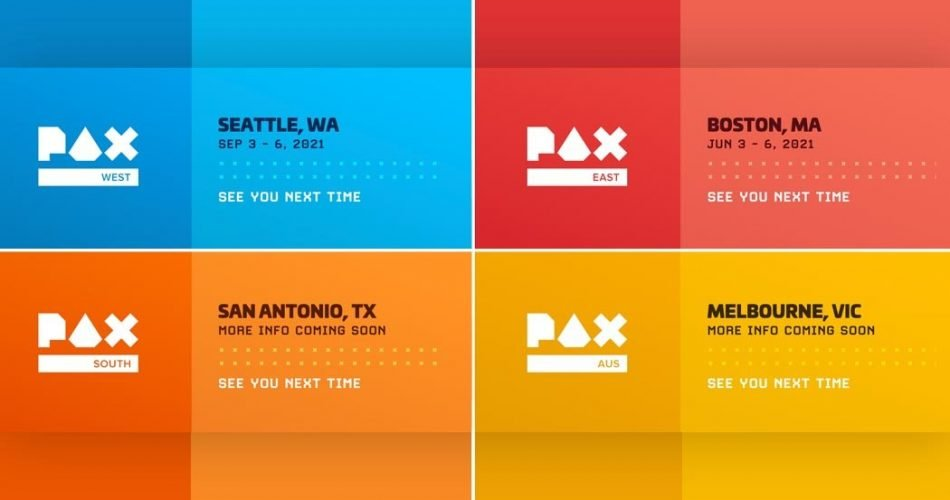 PAX Universe Announces 2021 Hopeful In-Person Event Schedule