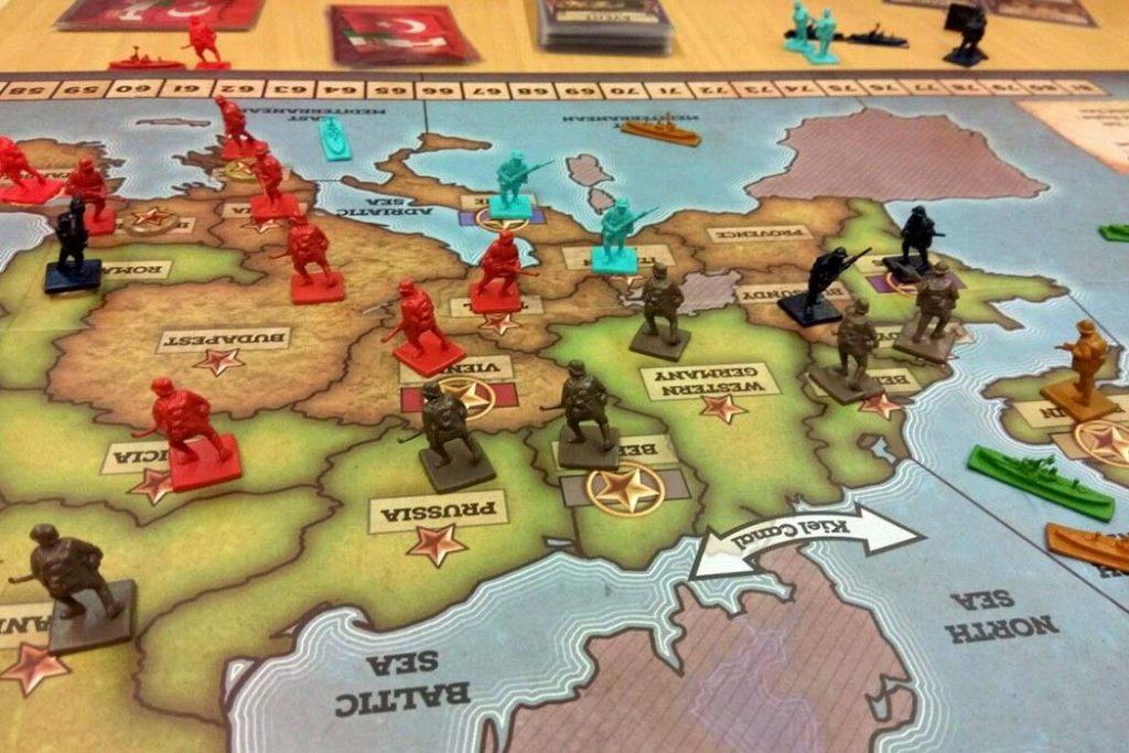 Quarter Master General 1914 Board Game