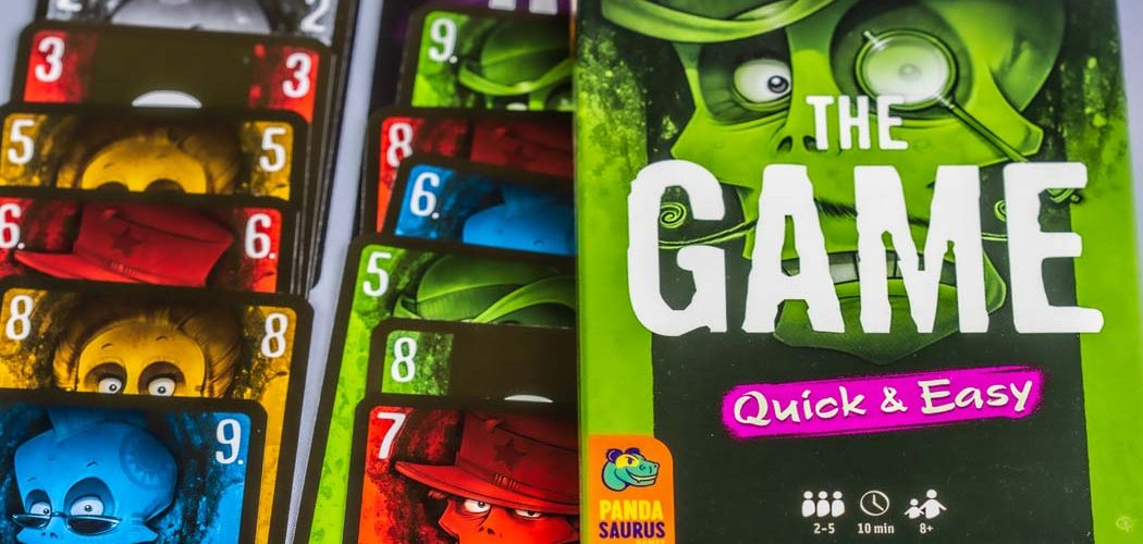 The Game Quick and Easy Board Game Box Art