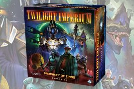 Twilight Imperium Prophecy of Kings Expansion Box Art