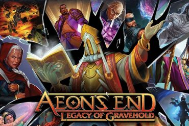 Aeon's End Legacy of Gravehold Expansion on Kickstarter