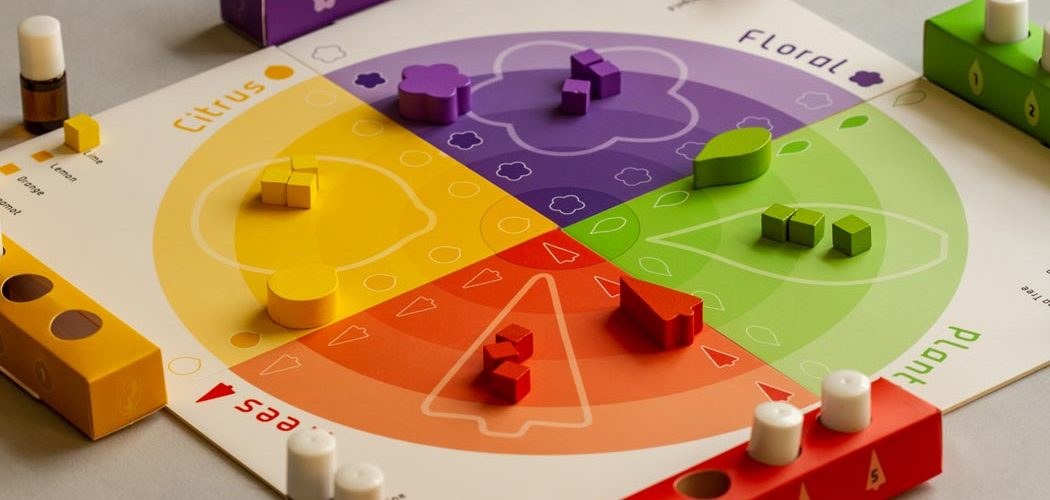 Aroma Essential Oils Board Game Perspective