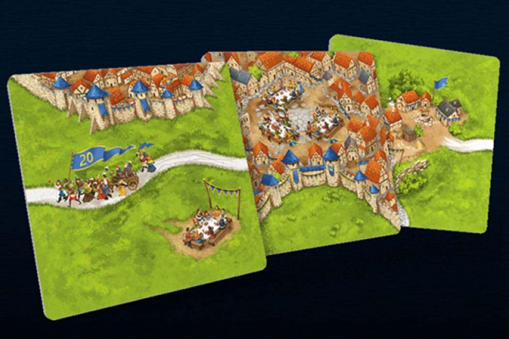Carcassonne 20th Anniversary Tiles