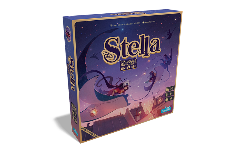 Dixit Stella 3d Game Box