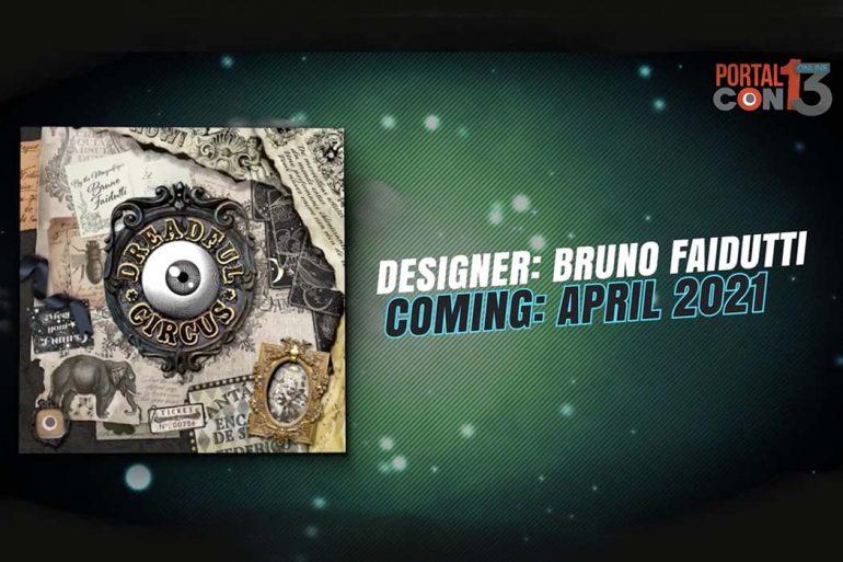 Dreadful Circus Card Game From Bruno Faidutti PortalCon Announcement