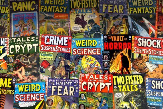 EC Comics Weird Science Jigsaw Puzzles