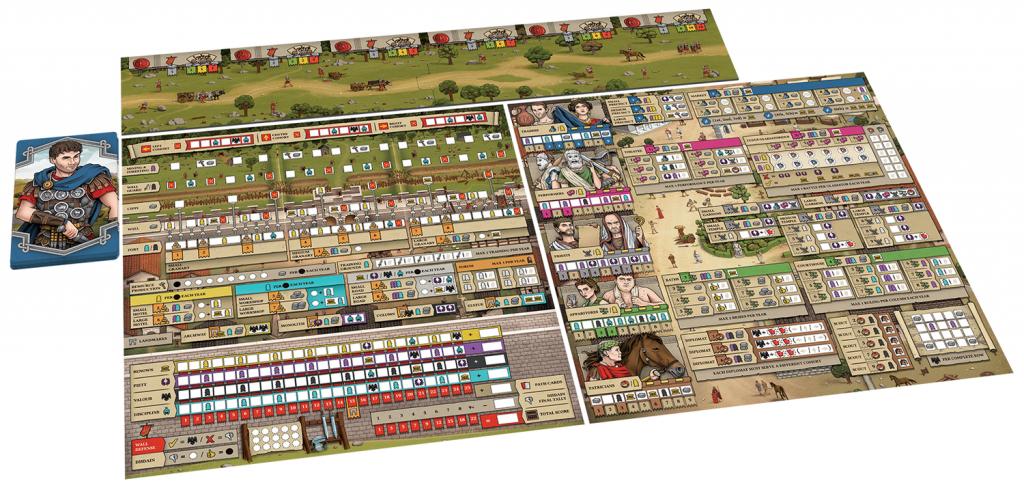 Hadrians Wall Gameplay Mockup