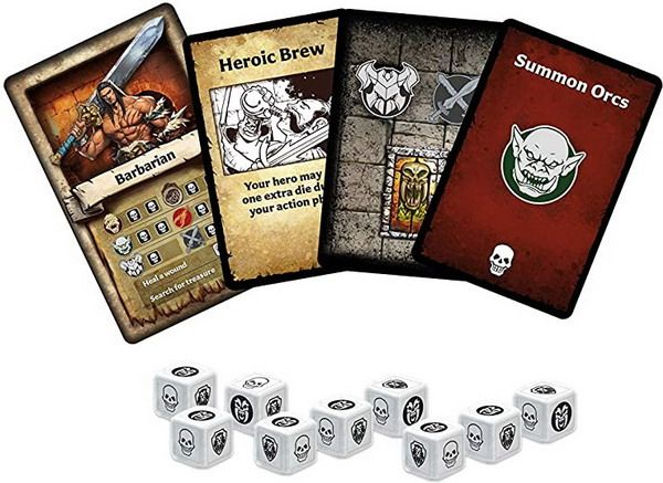 HeroQuest The Card Game Components Cards