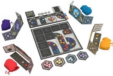 Pandasaurus Bringing Award-Winning Blind Bidding and Tile Placement Game Umbra Via To Market