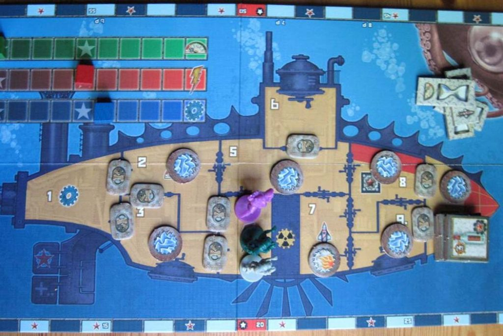 Red November Board Game