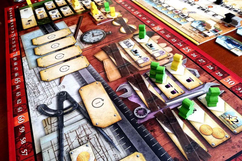 Russian Railroads Board Game
