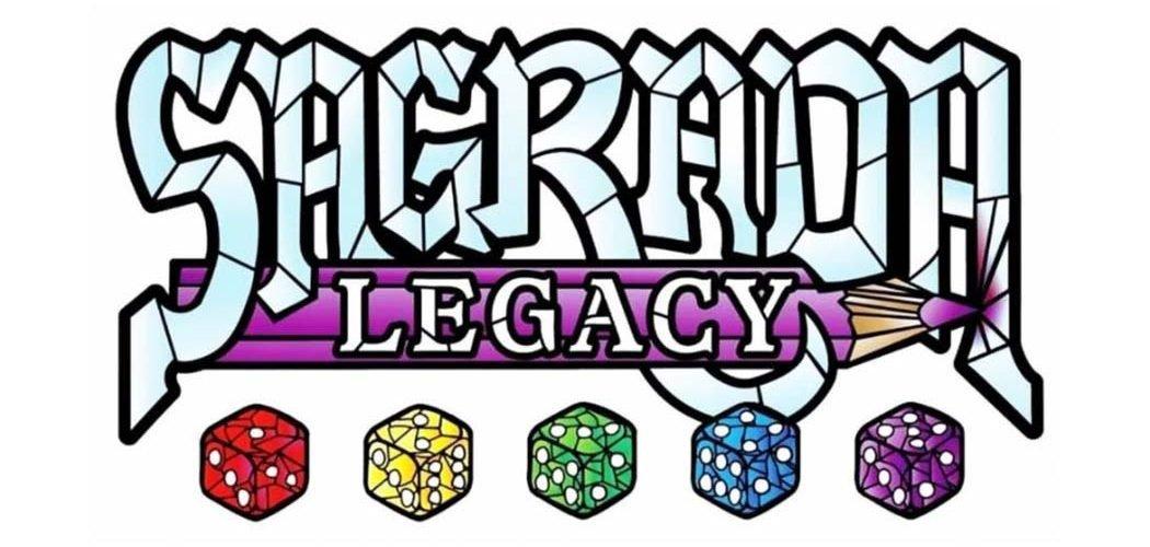 Sagrada Legacy Board Game Announcement Title Art