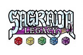 Sagrada Legacy Board Game Announcement Title Art