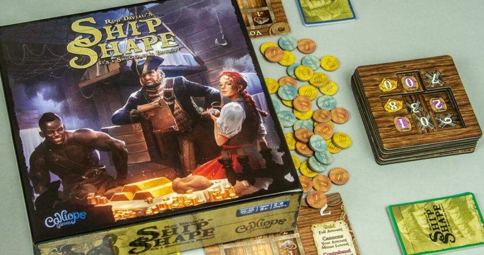 ShipShape Board Game Box Art