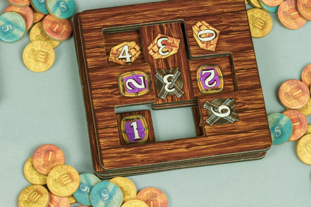 ShipShape Board Game Hold Tiles Stack